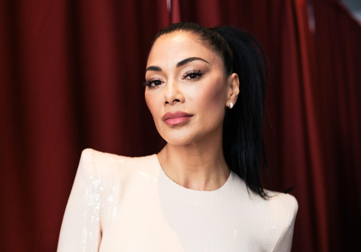 Nicole Scherzinger attends the 2019 iHeartRadio Music Awards which broadcasted live on FOX at Microsoft Theater on March 14, 2019 in Los Angeles, California