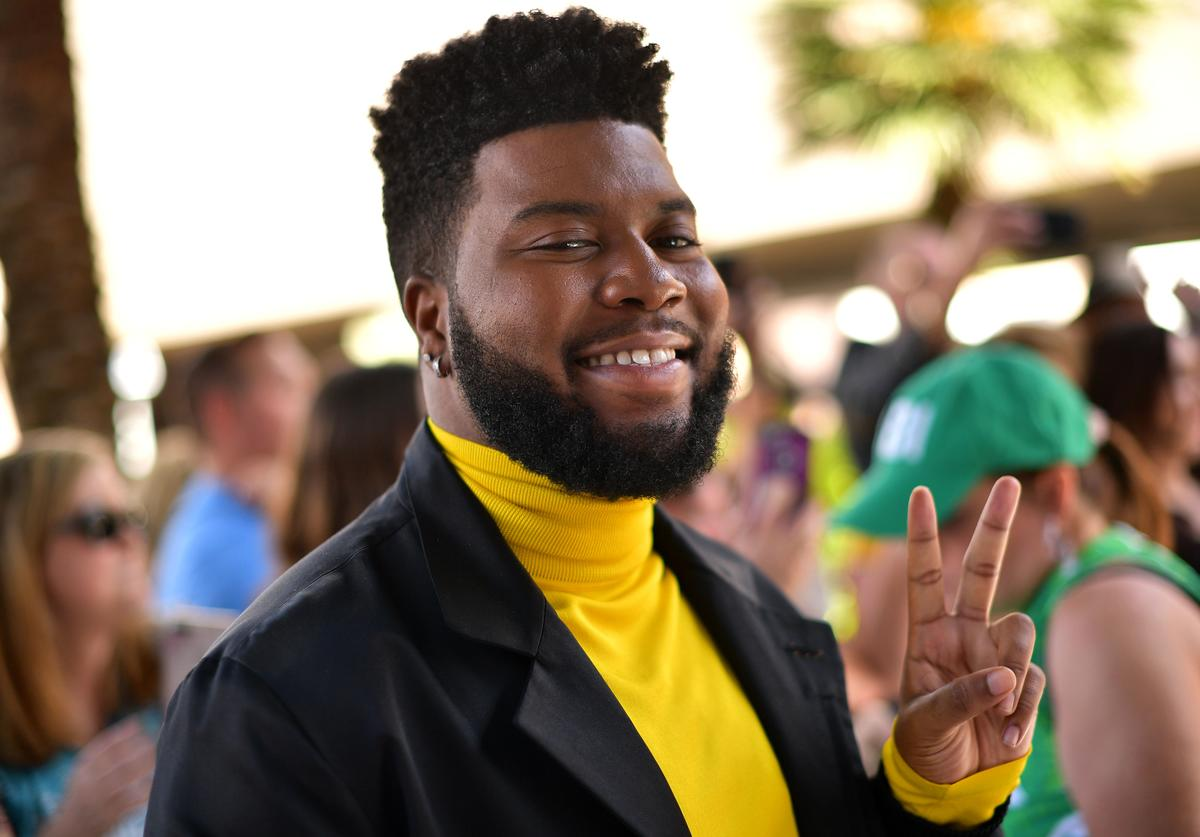 Khalid attends the 54th Academy Of Country Music Awards at MGM Grand Garden Arena on April 07, 2019 in Las Vegas, Nevada