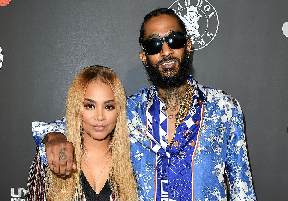 Lauren London, Nipsey Hussle arrives at the Los Angeles Premiere Of 'Can't Stop Won't Stop' at Writers Guild of America, West on June 21, 2017 in Los Angeles, California