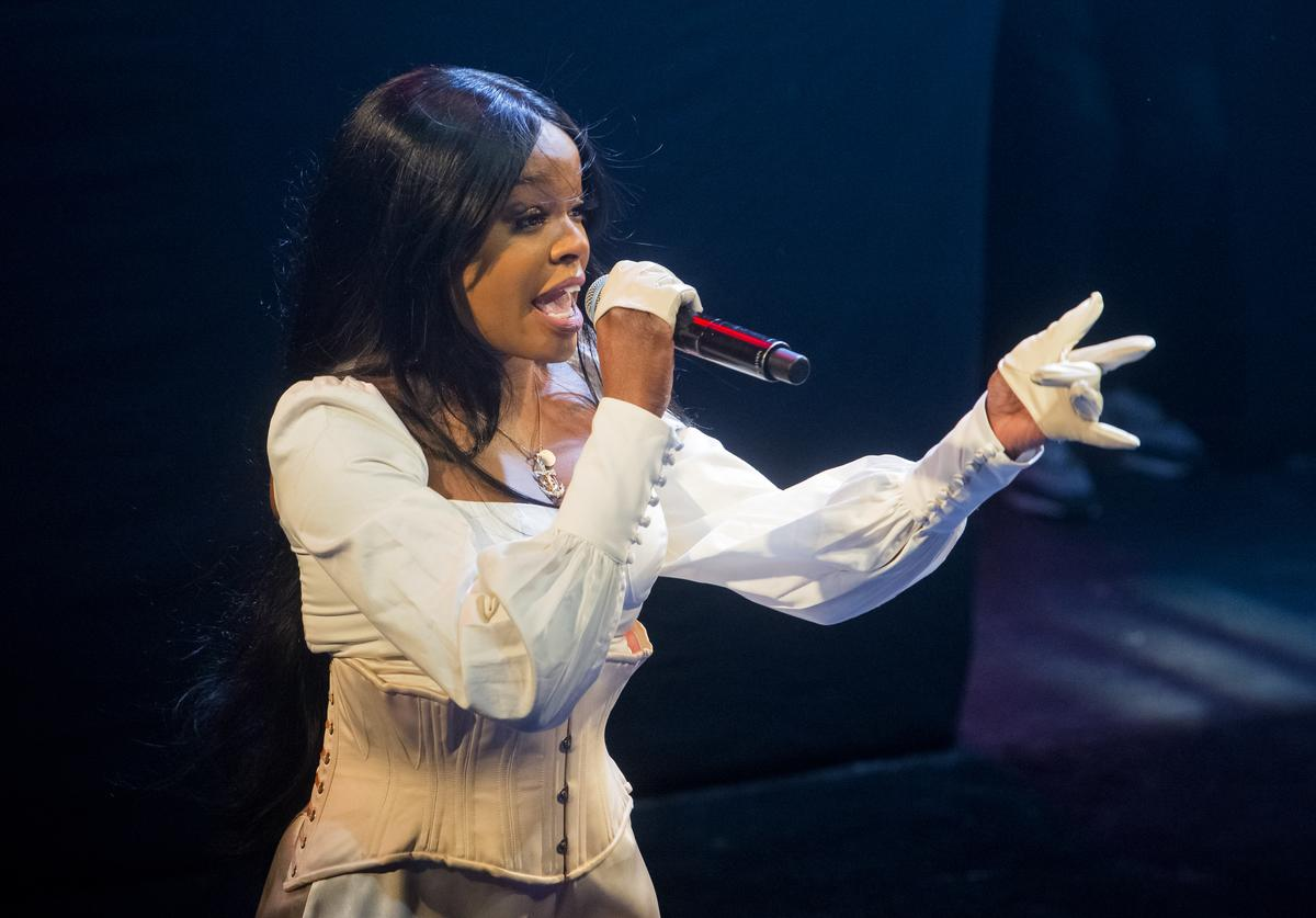 Azealia Banks performs at KOKO on January 25, 2019 in London, England
