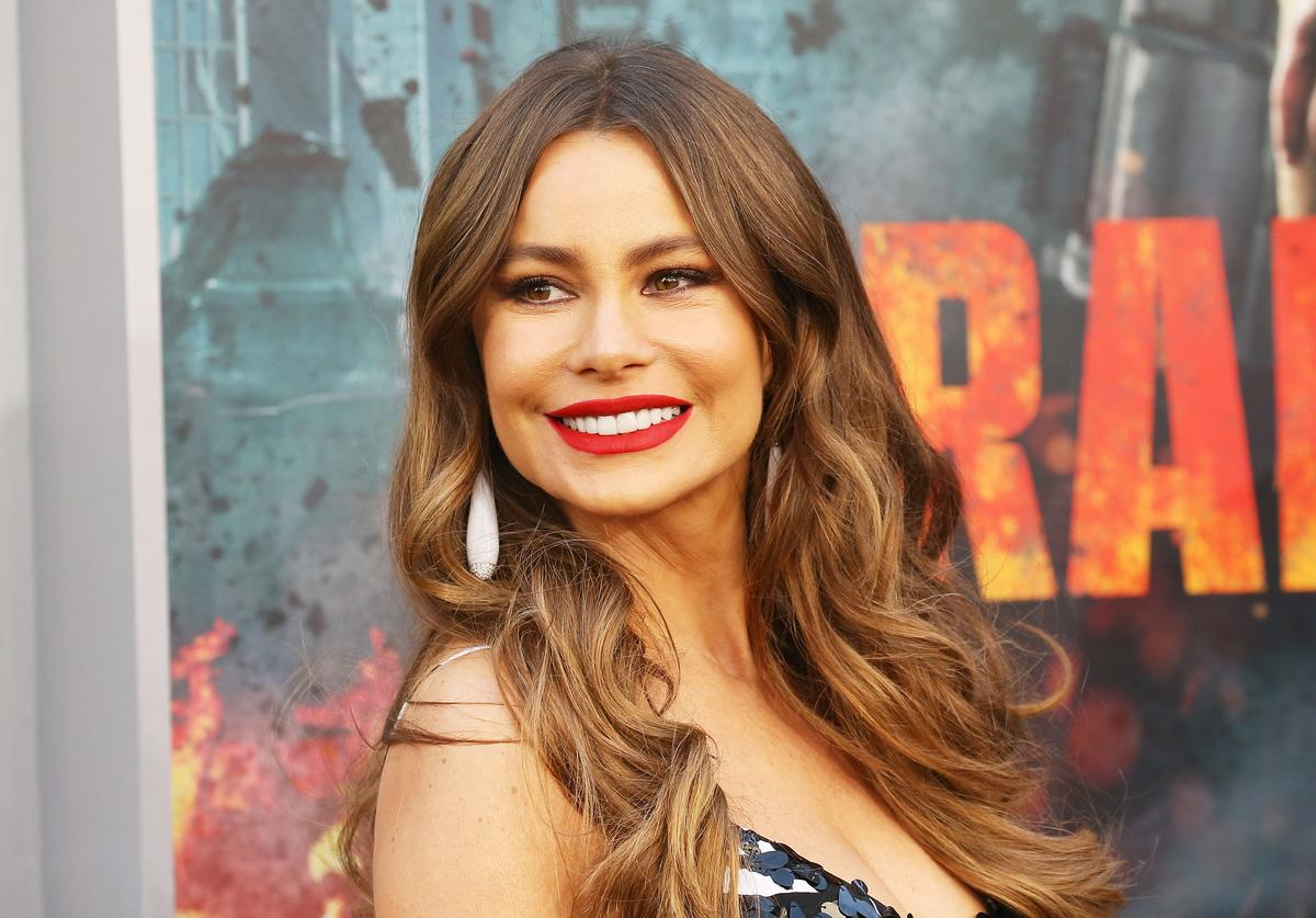 Sofia Vergara arrives to the Los Angeles premiere of Warner Bros. Pictures' 'Rampage' held at Microsoft Theater on April 4, 2018 in Los Angeles, California