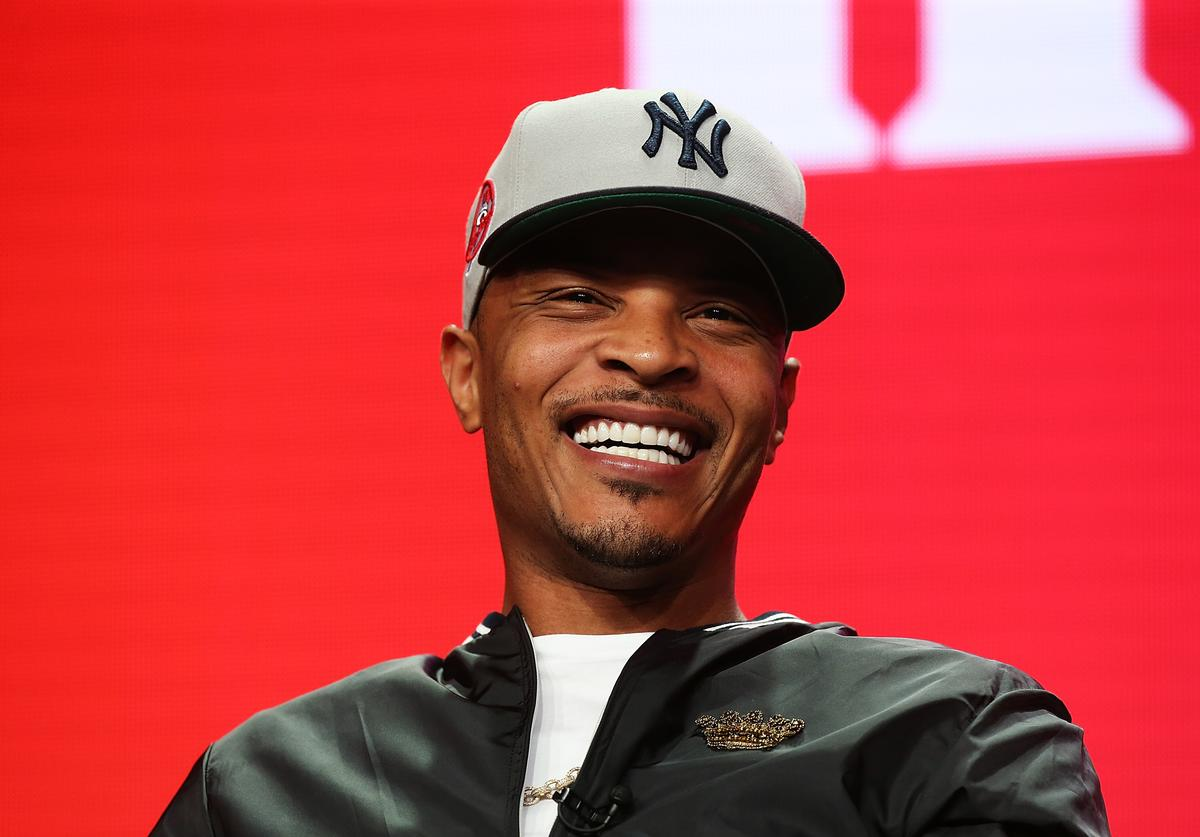 Rapper T.I. of the television show 'The Grand Hustle' speaks during the Viacom segment of the Summer 2018 Television Critics Association Press Tour at the Beverly Hilton Hotel on July 27, 2018 in Beverly Hills, California.