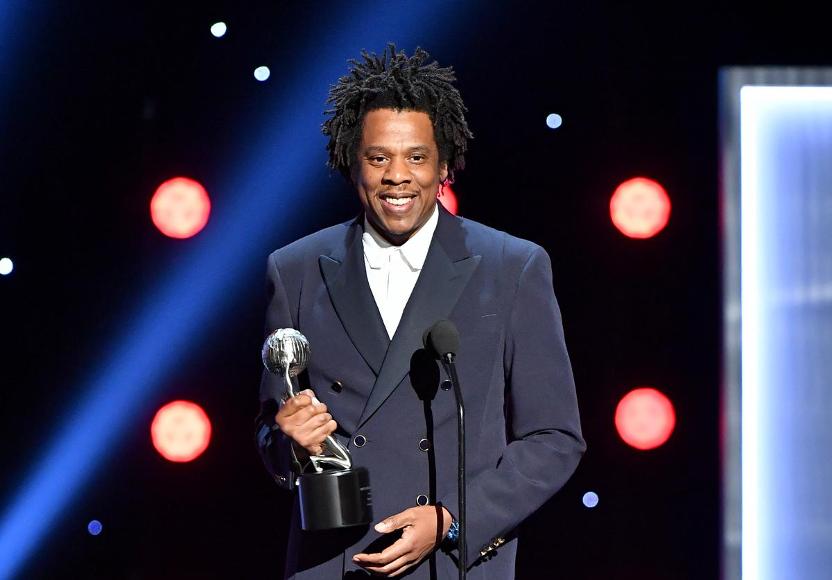 Jay-Z accepts the President's Award onstage at the 50th NAACP Image Awards at Dolby Theatre on March 30, 2019 in Hollywood, California
