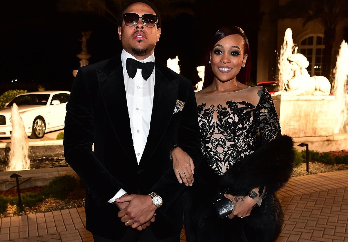 Monica and Shannon Brown attend Rick Ross' bday party