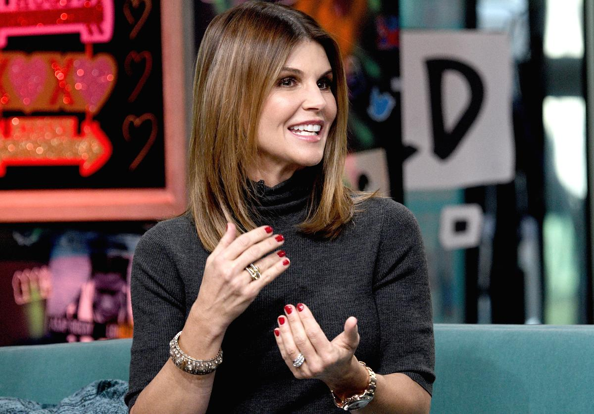 Lori Loughlin visits the Build Brunch to discuss the Hallmark Channel TV series 'When Calls the Heart' at Build Studio on February 14, 2019 in New York City