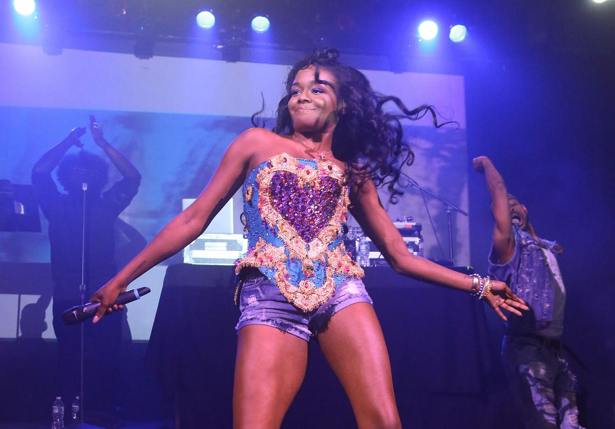 Azealia Banks performs at Irving Plaza on May 11, 2015 in New York City