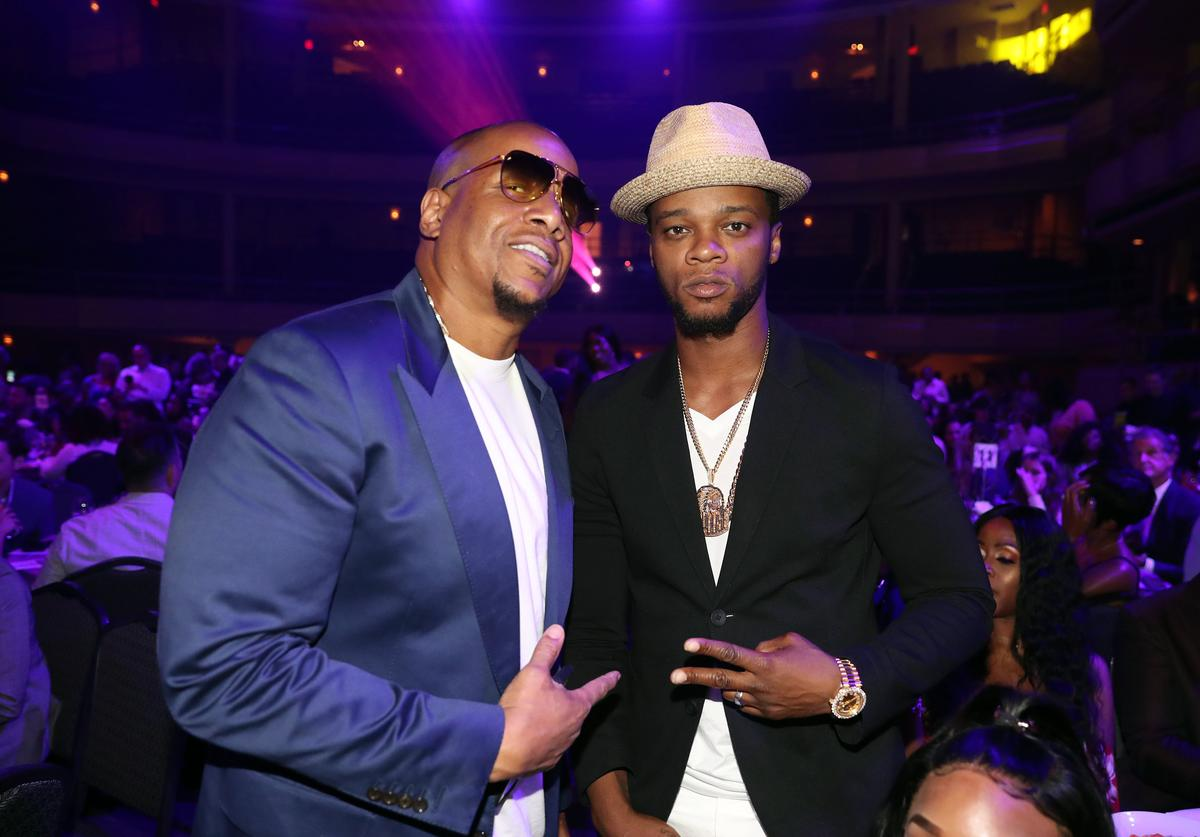 Kevin Hunter and Papoose.