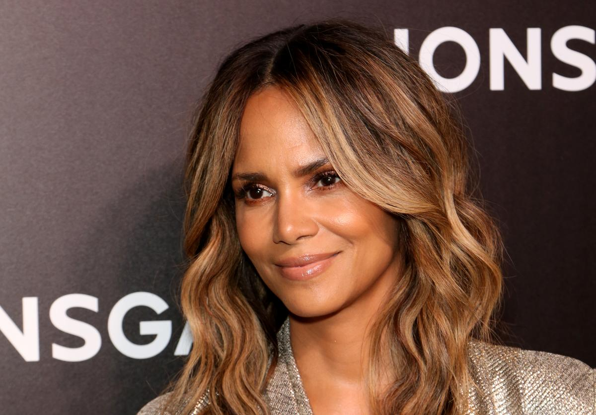 Halle Berry attends the Lionsgate presentation during CinemaCon at The Colosseum at Caesars Palace on April 04, 2019 in Las Vegas, Nevada