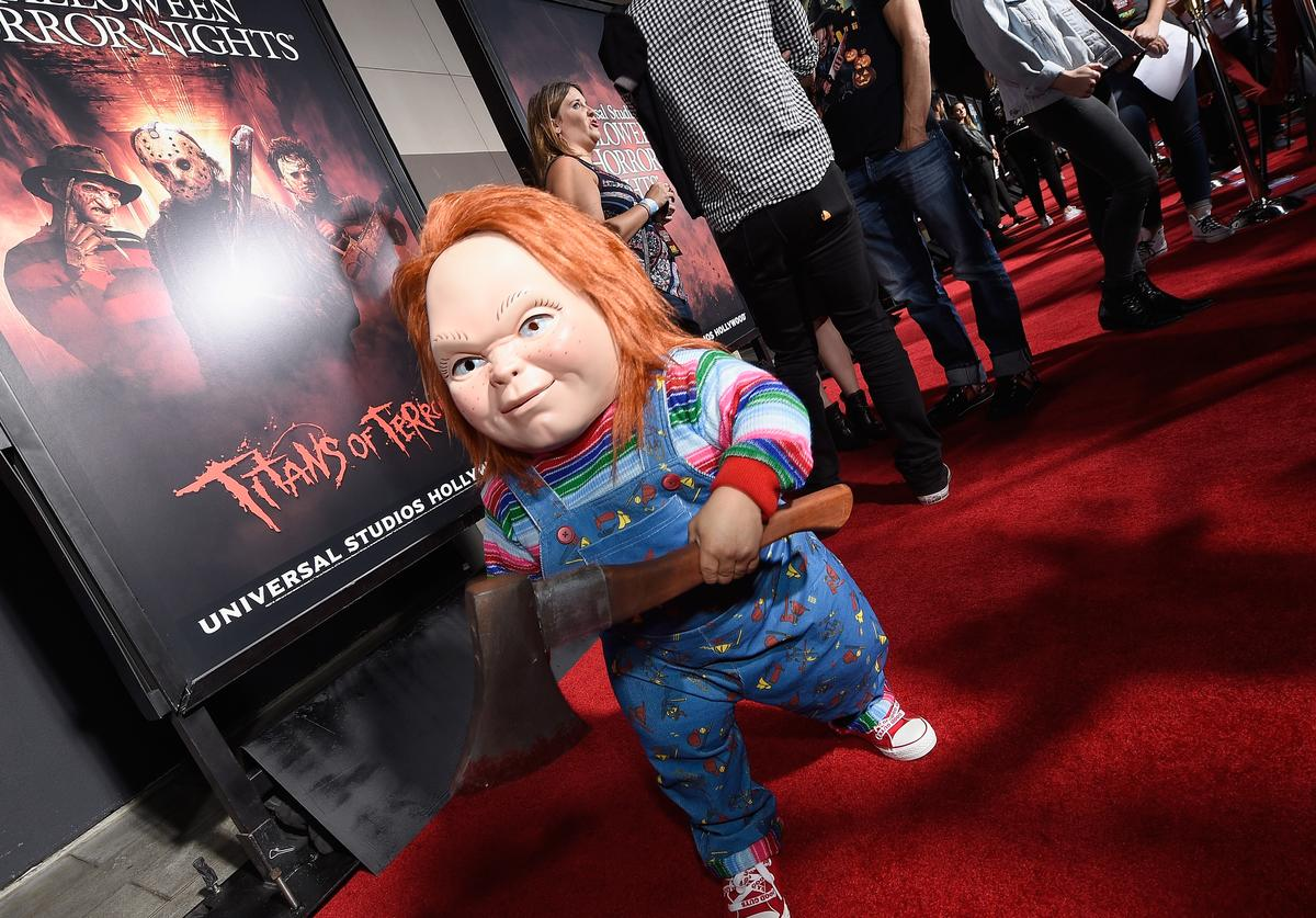 Chucky on red carpet.