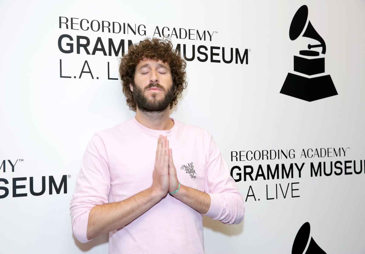 Lil Dicky attends A Conversation With Lil Dicky at the GRAMMY Museum on October 1, 2018 in Los Angeles, California
