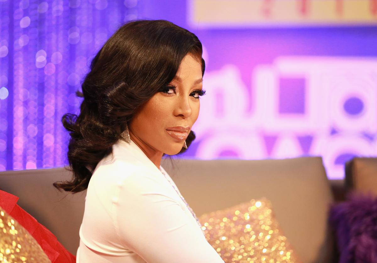 K. Michelle at Soul Train Awards.