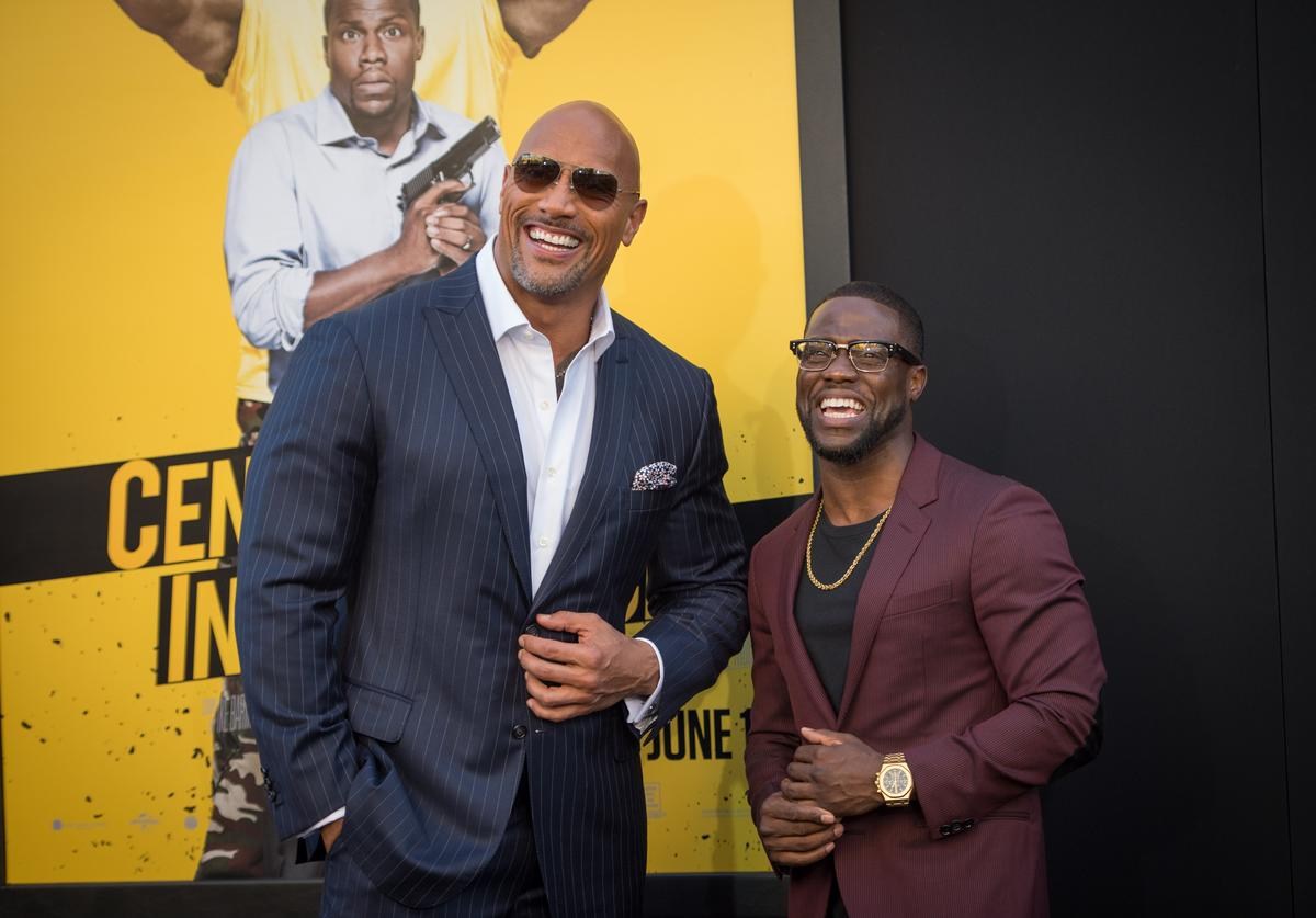 The Rock x Kevin Hart