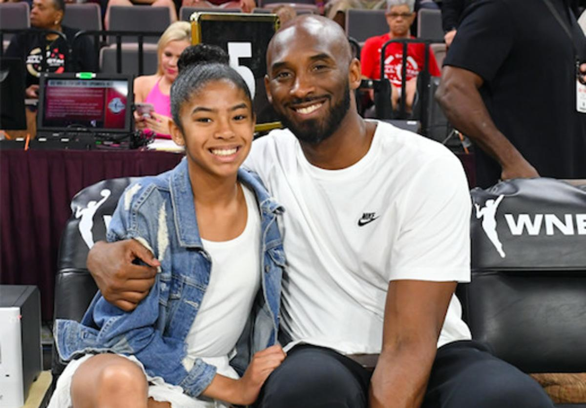 Kobe Bryant & Daughter
