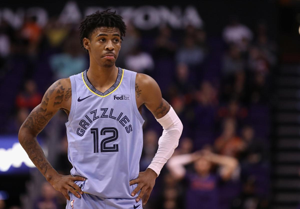 Ja Morant knows his All Star selection is coming