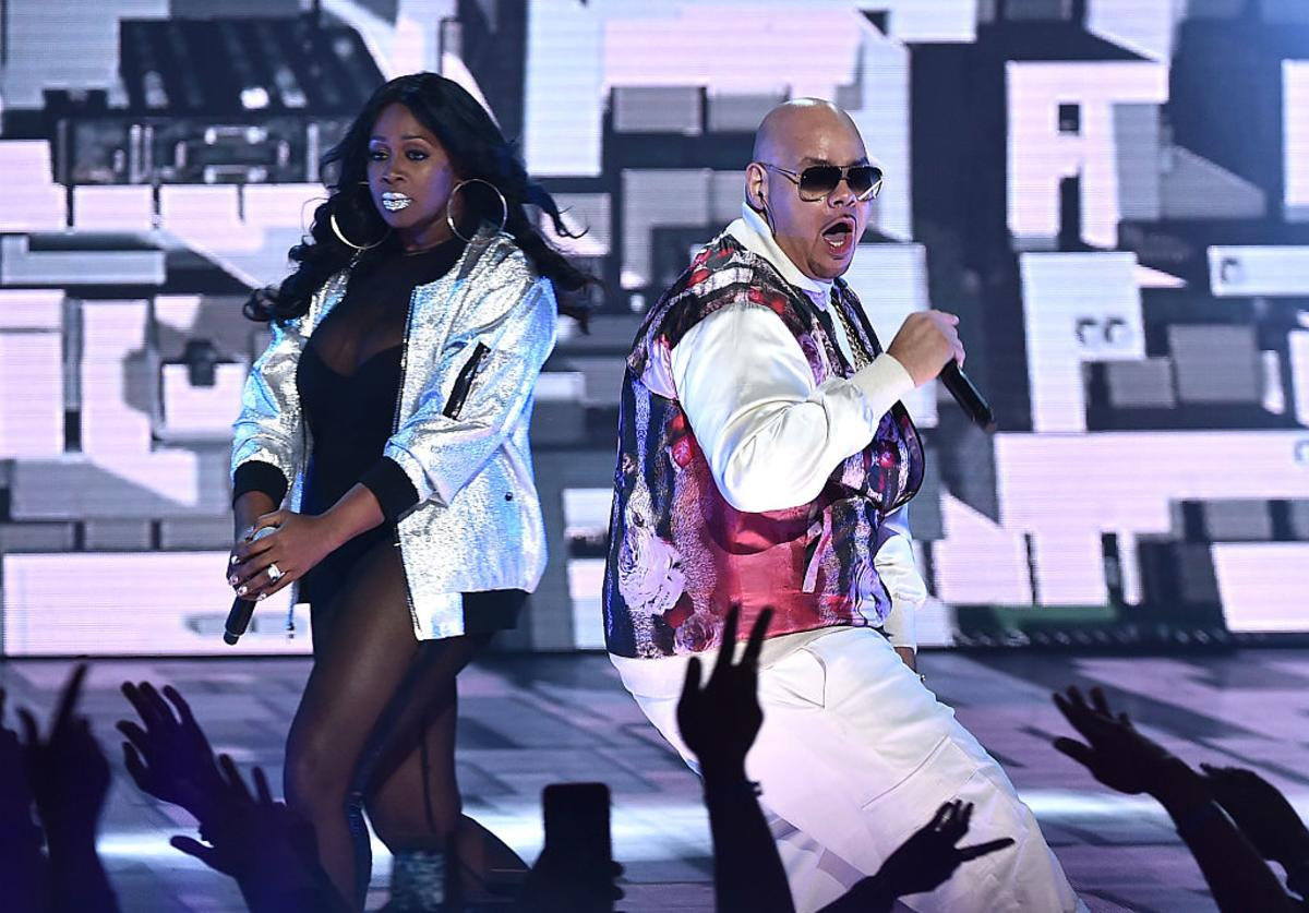 Remy Ma and Fat Joe perform onstage during the VH1 Hip Hop Honors: All Hail The Queens at David Geffen Hall on July 11, 2016 in New York City.