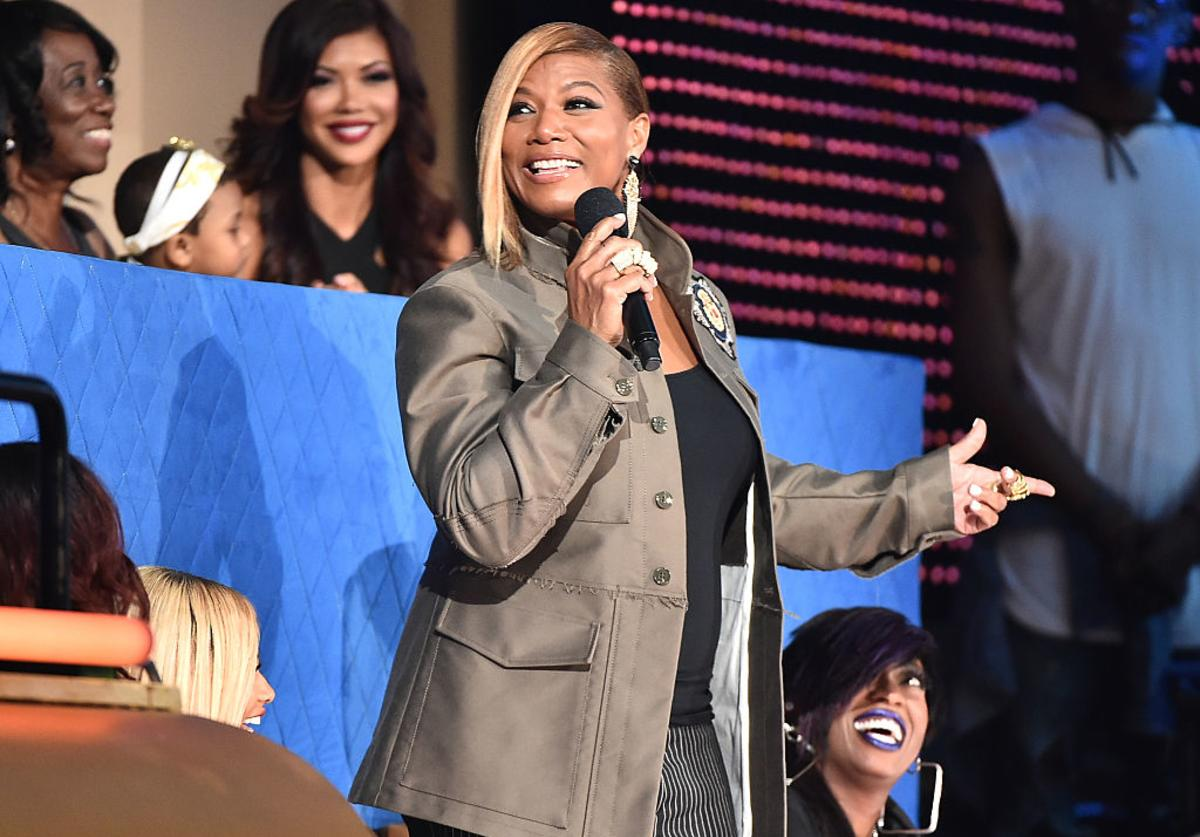 Queen Latifah speaks during the VH1 Hip Hop Honors: All Hail The Queens at David Geffen Hall on July 11, 2016 in New York City.