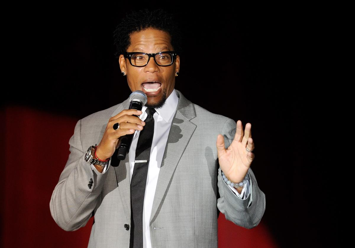 DL Hughley performing at the Orleans in Nevada.