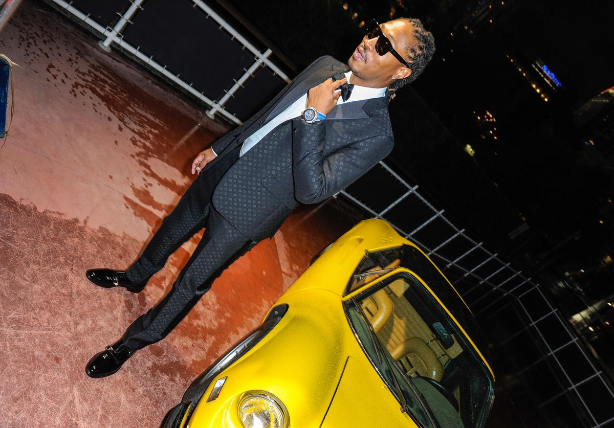 Future at the cover launch for Haute Living cover launch party.