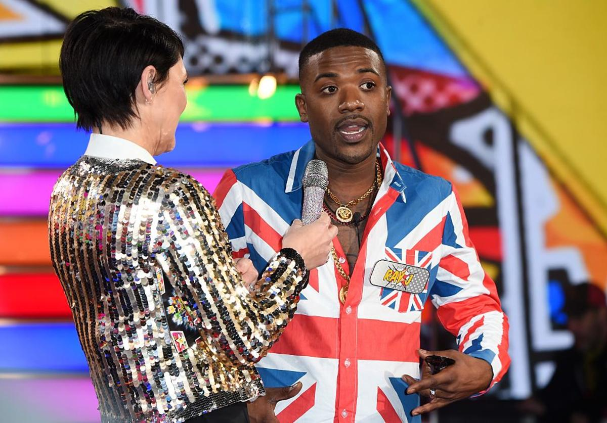 Ray J enters the Celebrity Big Brother House at Elstree Studios on January 3, 2017 in Borehamwood, England.