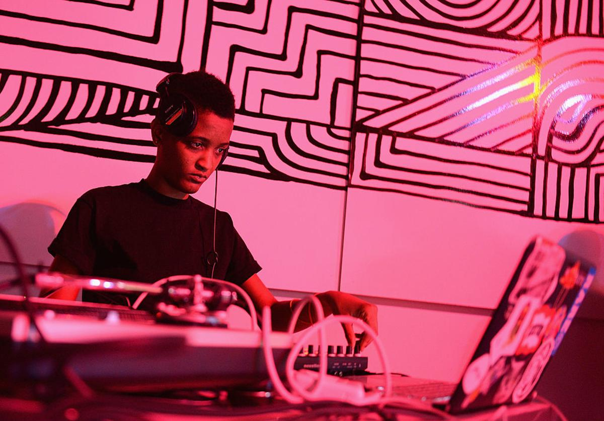 Syd tha Kyd attends the Converse CONS Project: Los Angeles Launch Event on February 20, 2014 in Los Angeles, California.