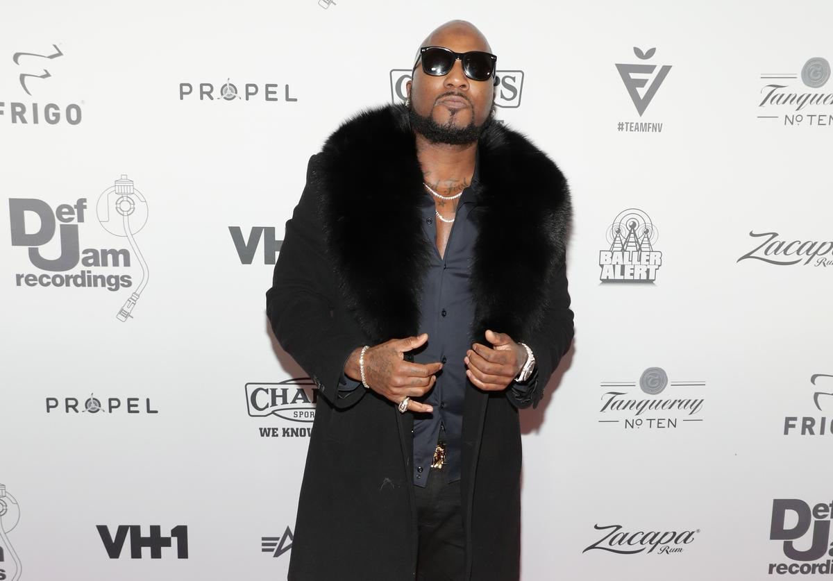 Young Jeezy at 2016 Def Jam holiday party.