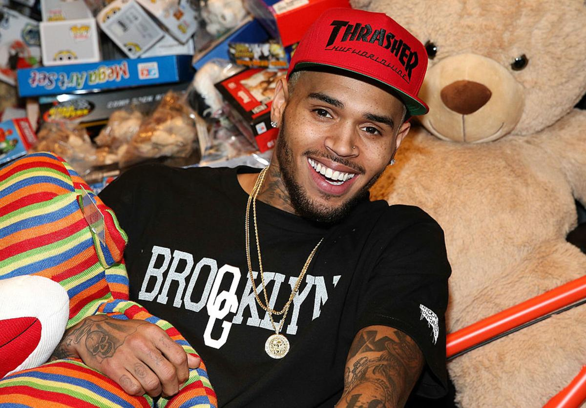 Chris Brown attends the 1st Annual Xmas Toy Drive hosted by himself and Brooklyn Projects on December 22, 2013 in Los Angeles, California.