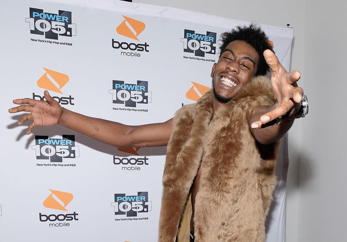 Desiigner performs on Flog Stage during day one of Tyler, the Creator's 5th Annual Camp Flog Gnaw Carnival at Exposition Park on November 12, 2016 in Los Angeles, California.