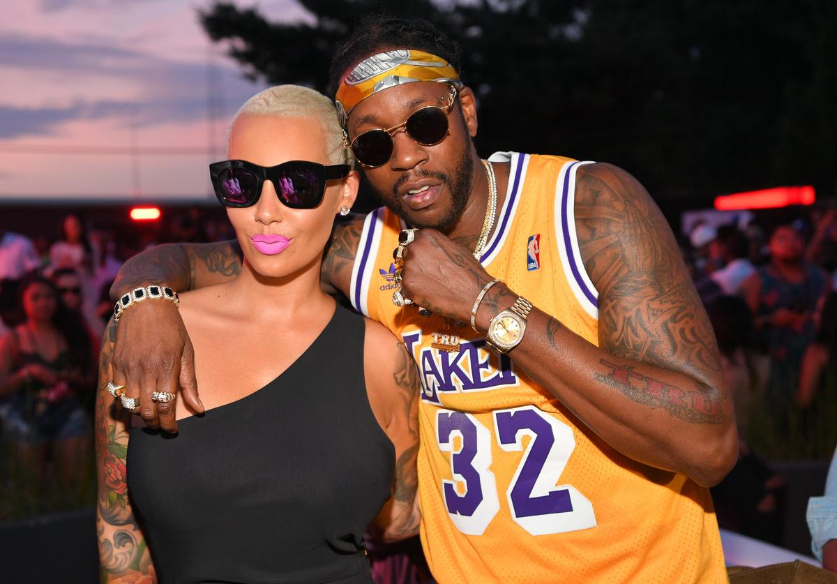 2 Chainz Amber Rose