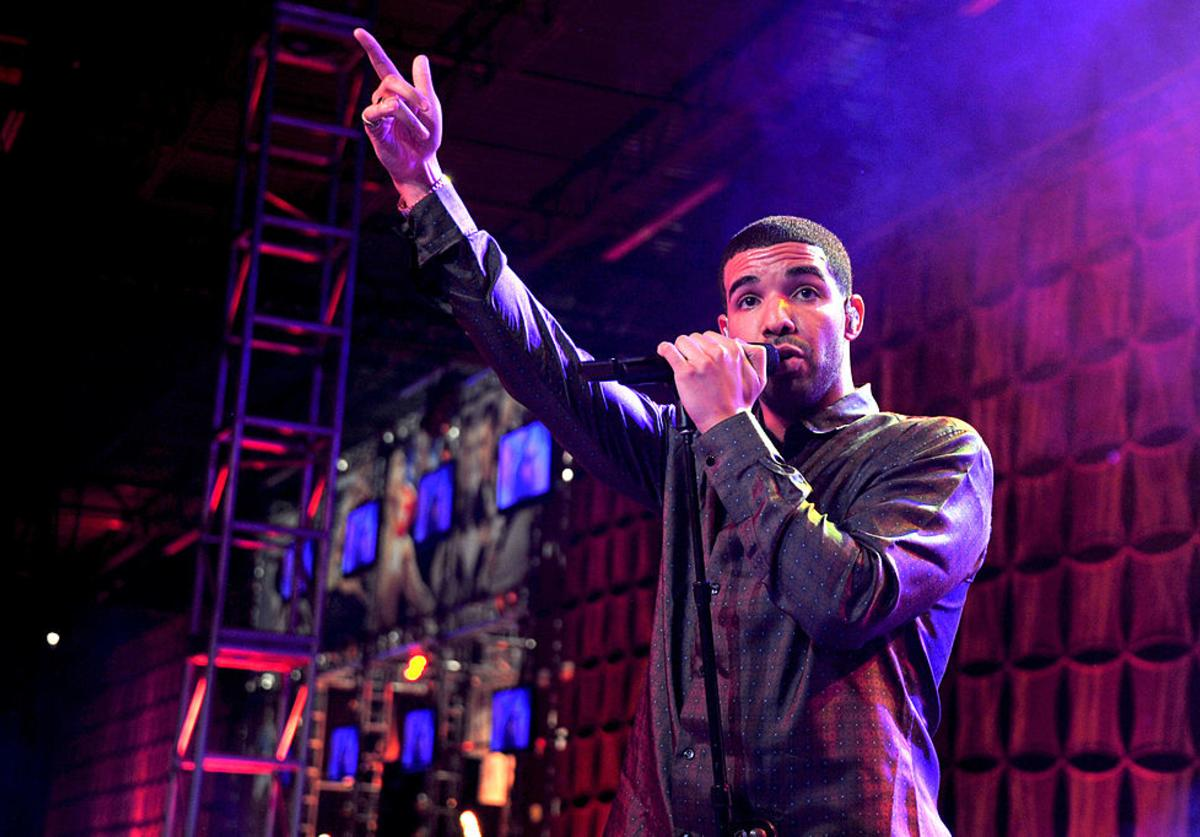 Drake performs at ESPN The Magazine's 'NEXT' Event on February 3, 2012 in Indianapolis, Indiana.