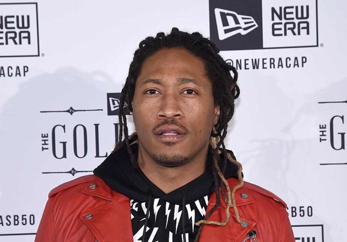 Future attends the New Era Super Bowl party at The Battery on February 6, 2016 in San Francisco, California.