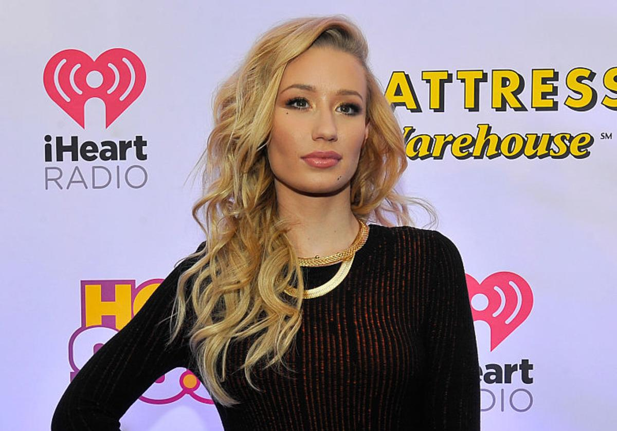 Iggy Azalea attends HOT 99.5's Jingle Ball 2014, Presented by Mattress Warehouse at the Verizon Center on December 15, 2014 in Washington, D.C.