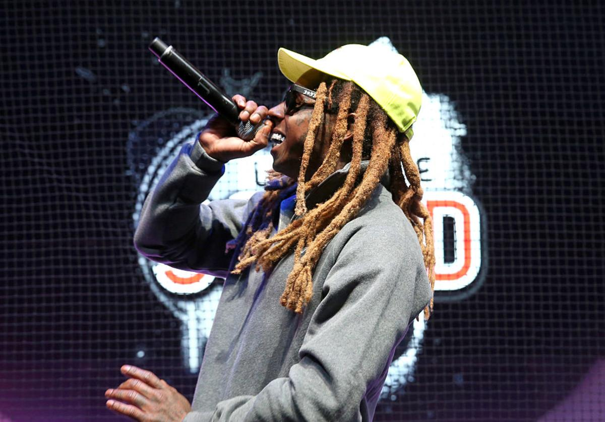 Lil Wayne performs onstage at the Samsung booth at E3 Expo 2016 on June 15, 2016 in Los Angeles, California.