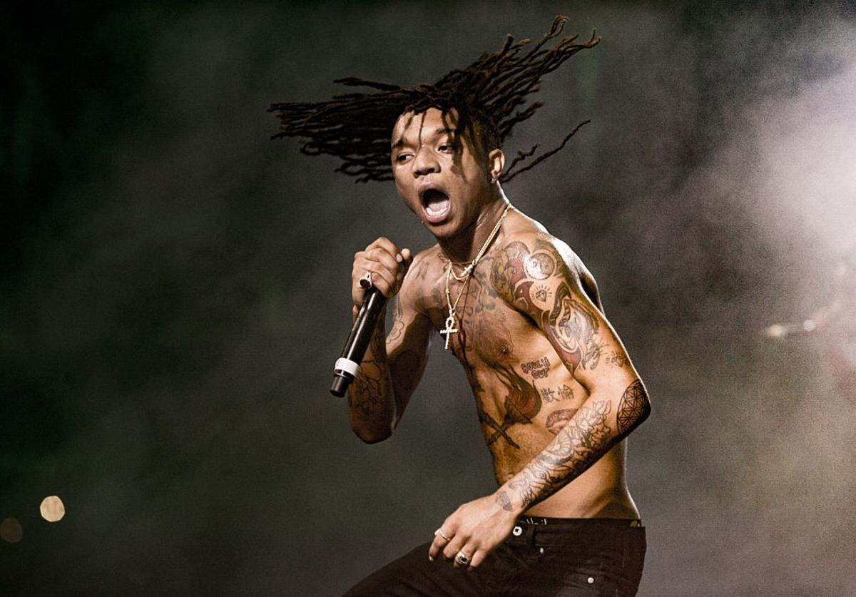 Swae Lee of Rae Sremmurd performs onstage during 2016 Coachella Valley Music And Arts Festival at the Empire Polo Field on April 22 2016 in Indio, California.