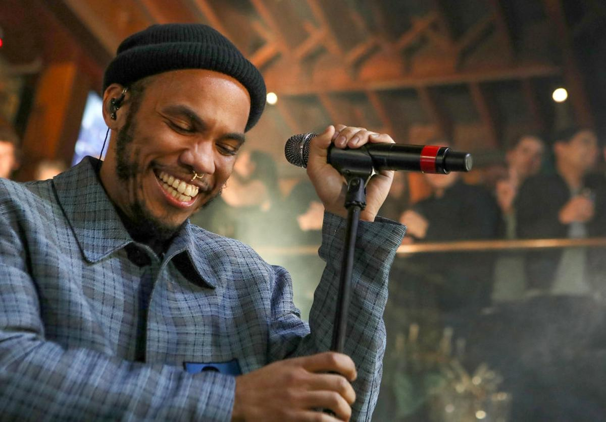 Anderson .Paak & The Free Nationals perform at Soho Sounds: LA hosted by Soho House with Samsung, BMW of Beverly Hills & Bacardi on February 11, 2017 in Los Angeles, California.