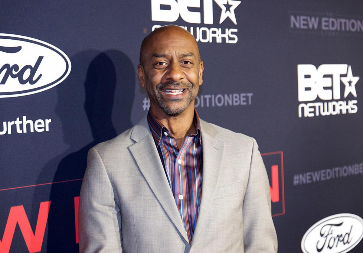 President of Programming Stephen Hill speaks to the audience at BET's 'The New Edition Story' Premiere Screening on January 23, 2017 in Los Angeles, California.