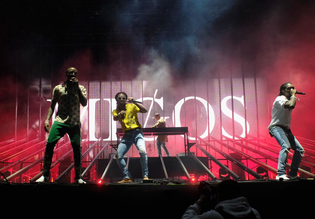 Migos Performs at Coachella Music Festival 2017