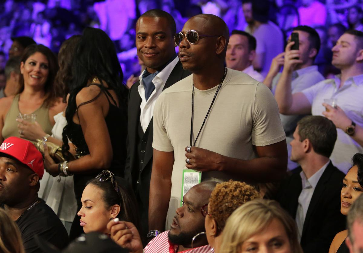 Dave Chappelle at The D'USSE Lounge At Ward-Kovalev 2