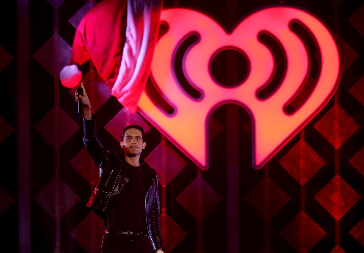 Rapper G-Eazy performs onstage during 101.3 KDWB's Jingle Ball 2016