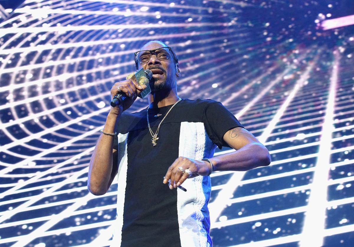 Snoop Dogg performs onstage at night one of the 2017 BET Experience STAPLES Center
