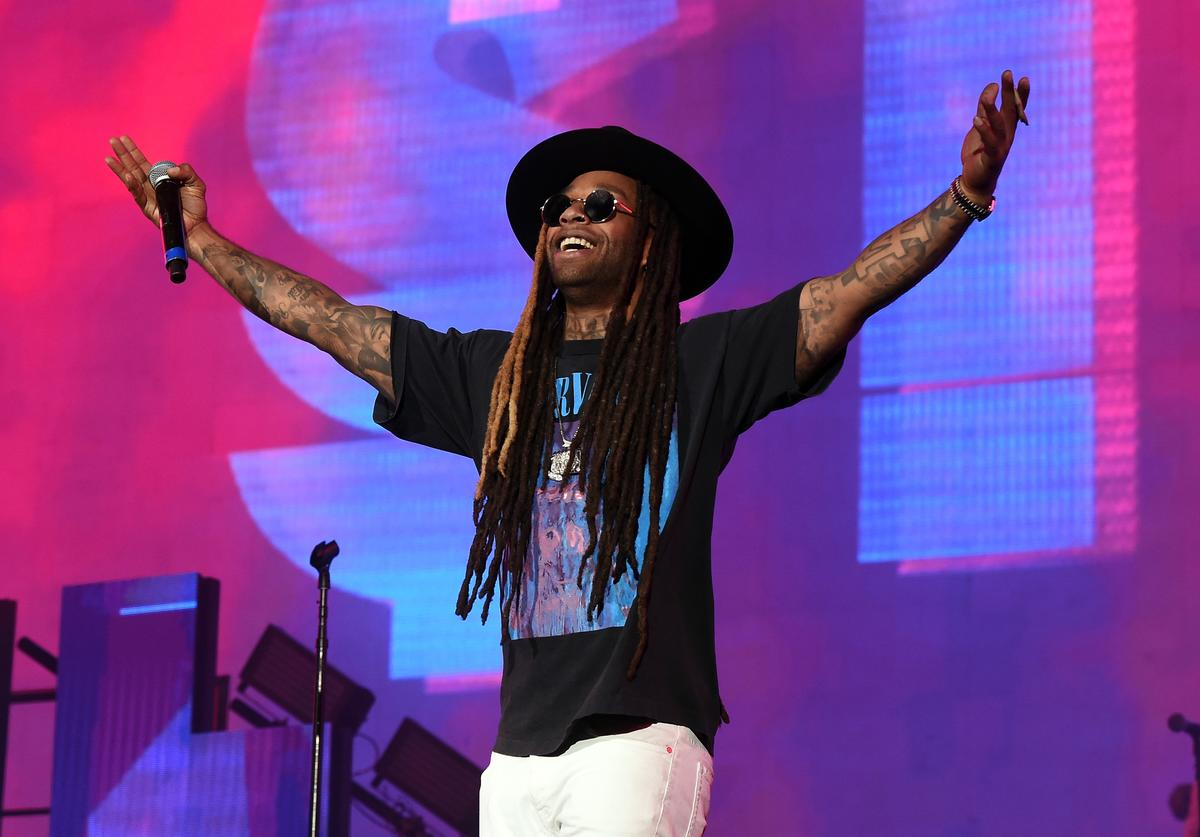 Ty Dolla Sign performs on the Coachella Stage during day 2 of the Coachella Valley Music