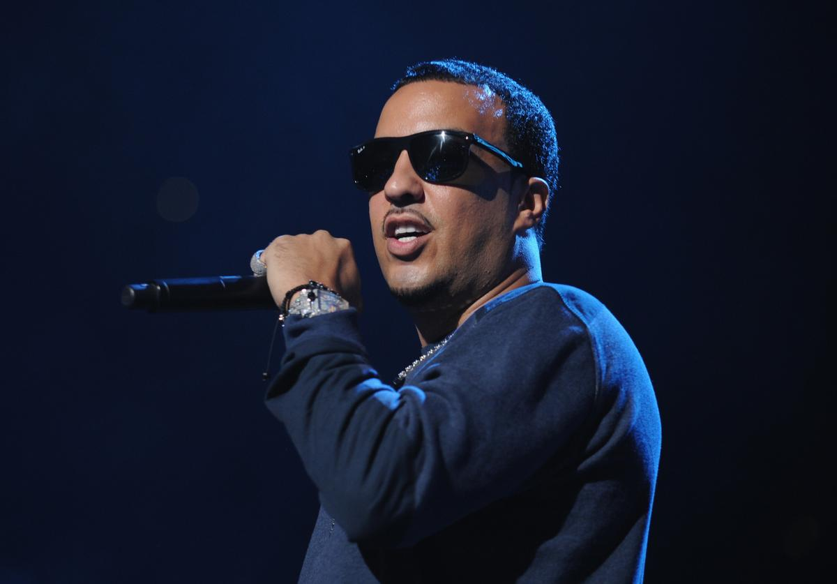 French Montana performs on stage at Power 105.1's Powerhouse 2014