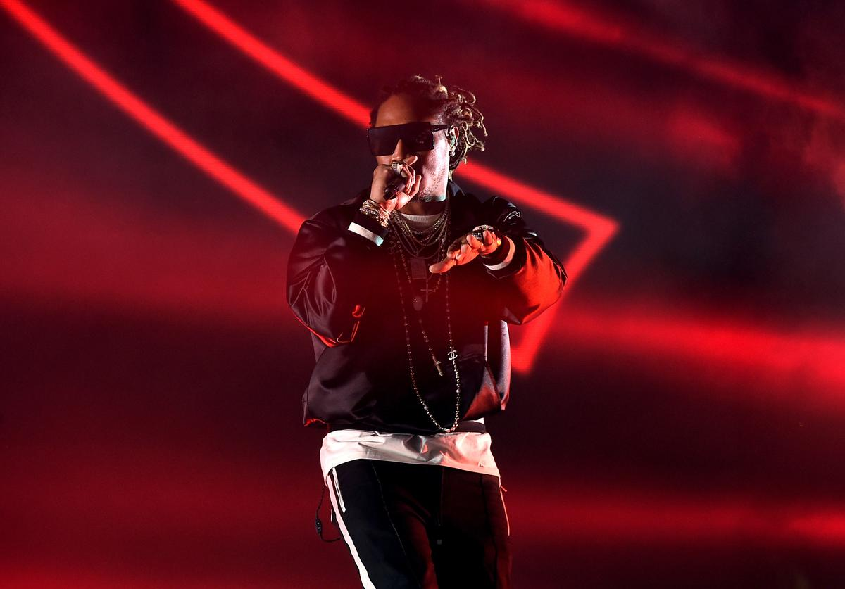Future performs on the Coachella Stage during day 3 of the Coachella Valley Music And Arts Festival