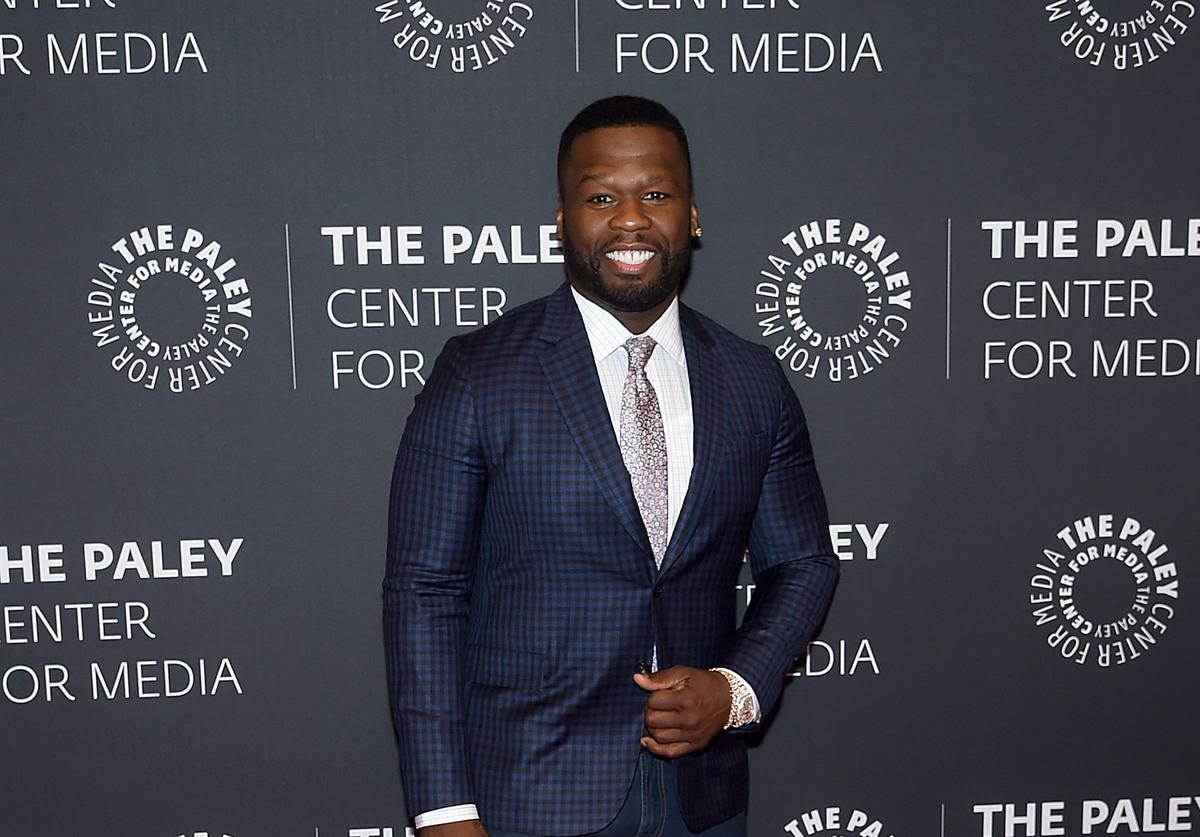 Curtis '50 Cent' Jackson attends the PaleyLive NY Presents An Evening With The Cast And Creative Team Of 'Power' at The Paley Center for Media on July 12, 2017 in New York City.