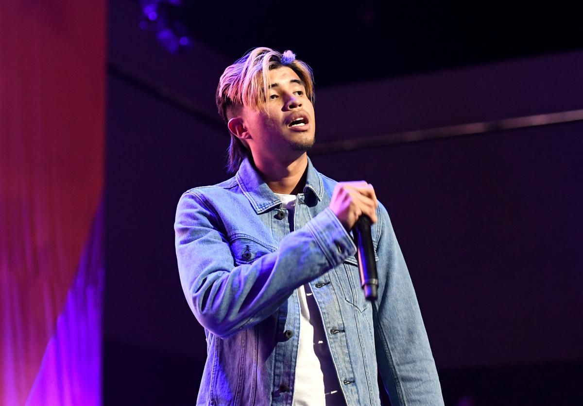 Kap G performs onstage at the Main Stage Performances during the 2017 BET Experience at Los Angeles Convention Center on June 24, 2017 in Los Angeles, California.
