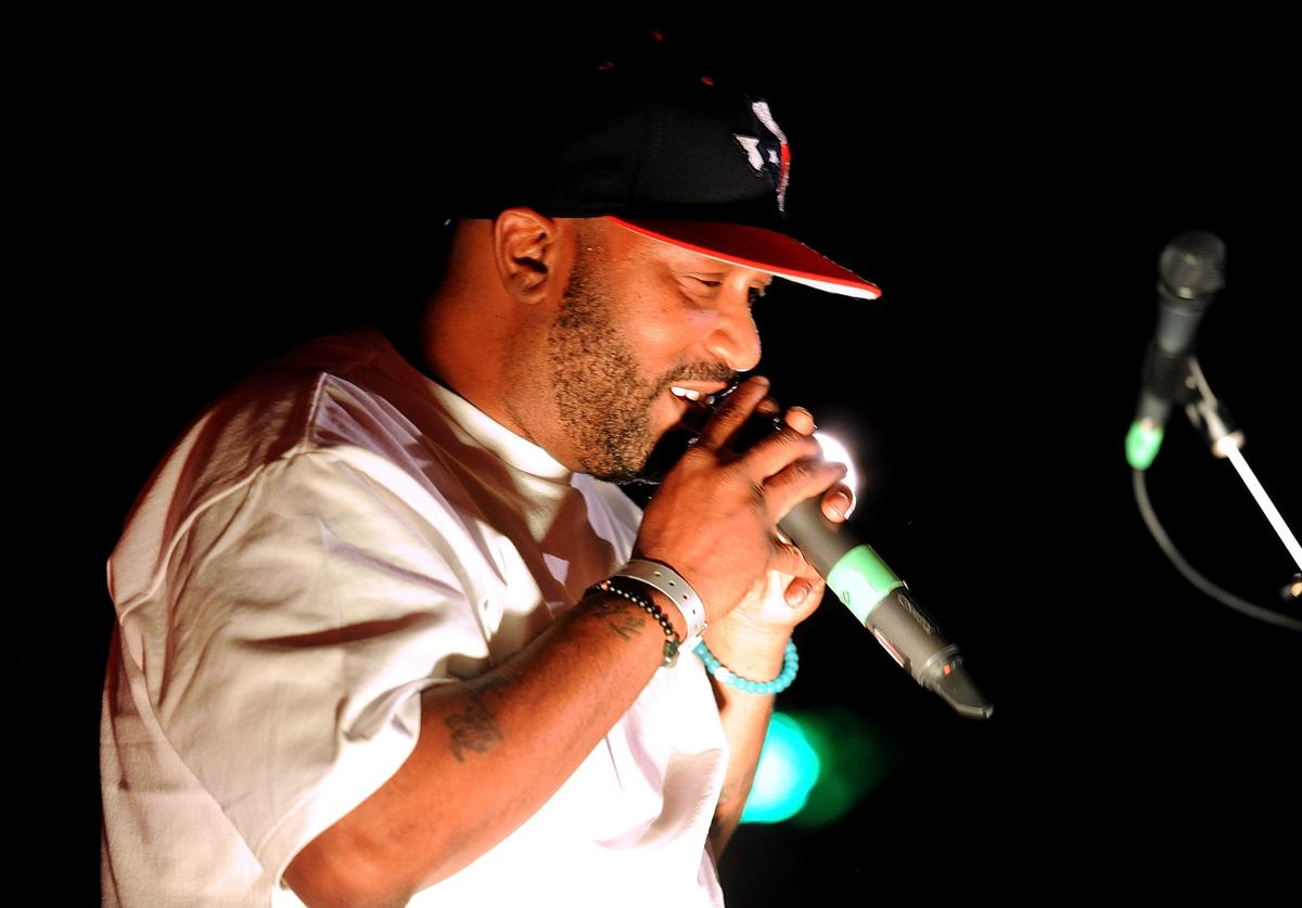 Bun B performs at the Grammy Block Park during SXSW Music at Four Seasons Hotel on March 16, 2017 in Austin, Texas.
