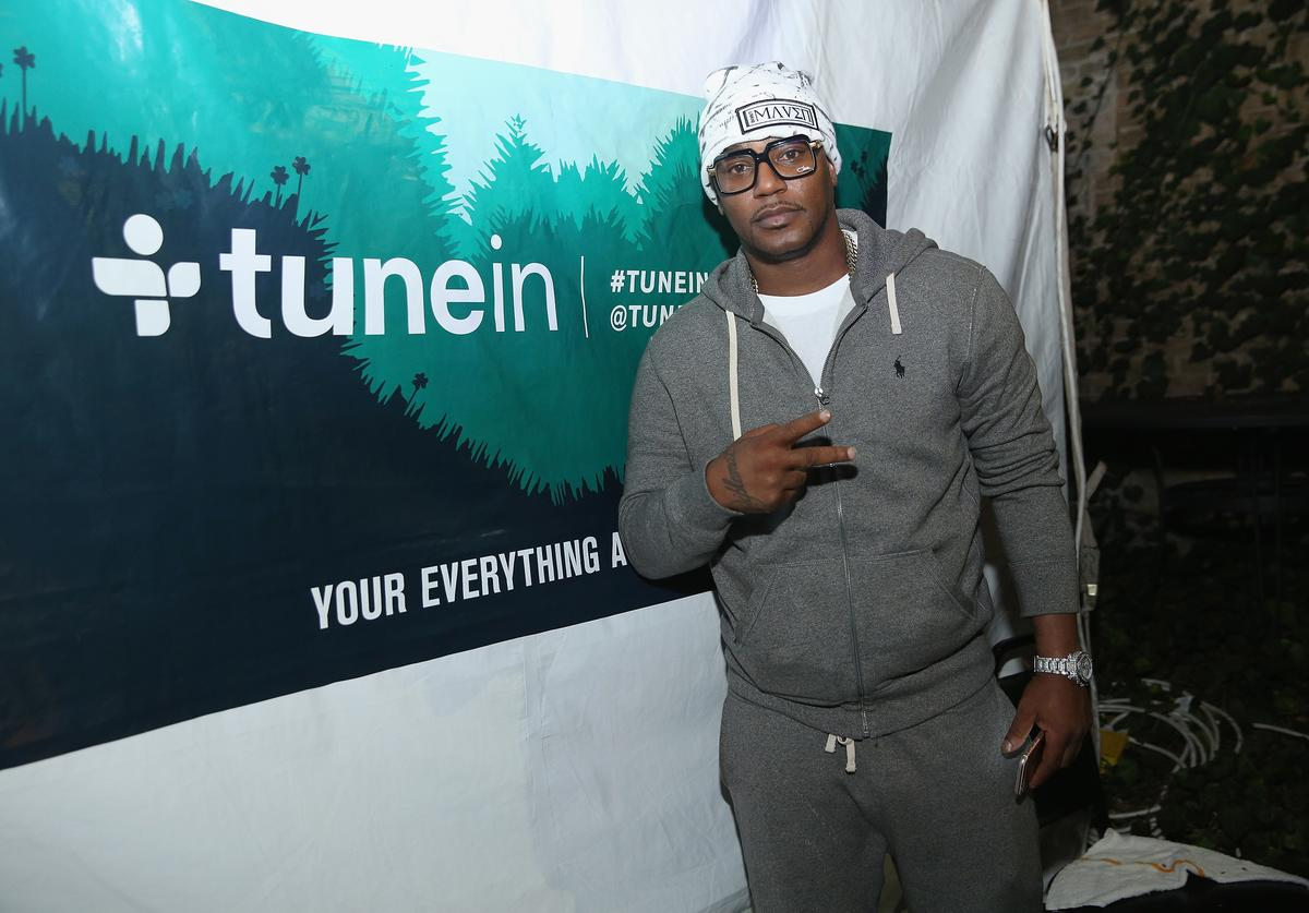 Rapper Cam'ron attends the Hip-Hop Beat Showcase at TuneIn Studios @ SXSW 2017 on Thursday, March 16th 2017 in Austin, TX