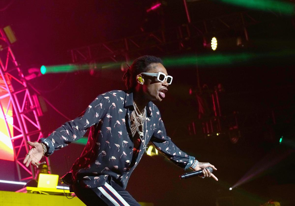 Recording artist Wiz Khalifa performs onstage at night one of the 2017 BET Experience STAPLES Center Concert, sponsored by Hulu, at Staples Center on June 22, 2017 in Los Angeles, California.