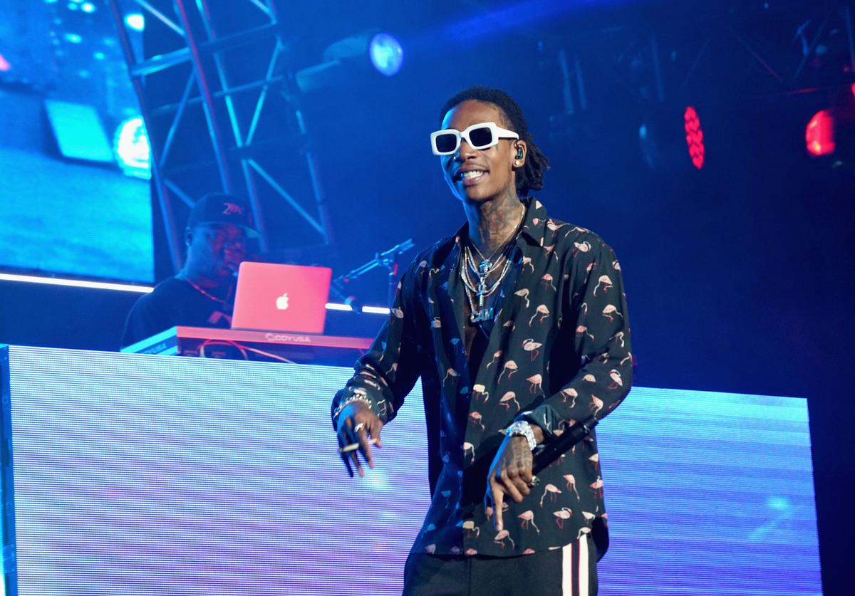 Recording artist Wiz Khalifa performs onstage at night one of the 2017 BET Experience STAPLES Center Concert, sponsored by Hulu, at Staples Center on June 22, 2017 in Los Angeles, California
