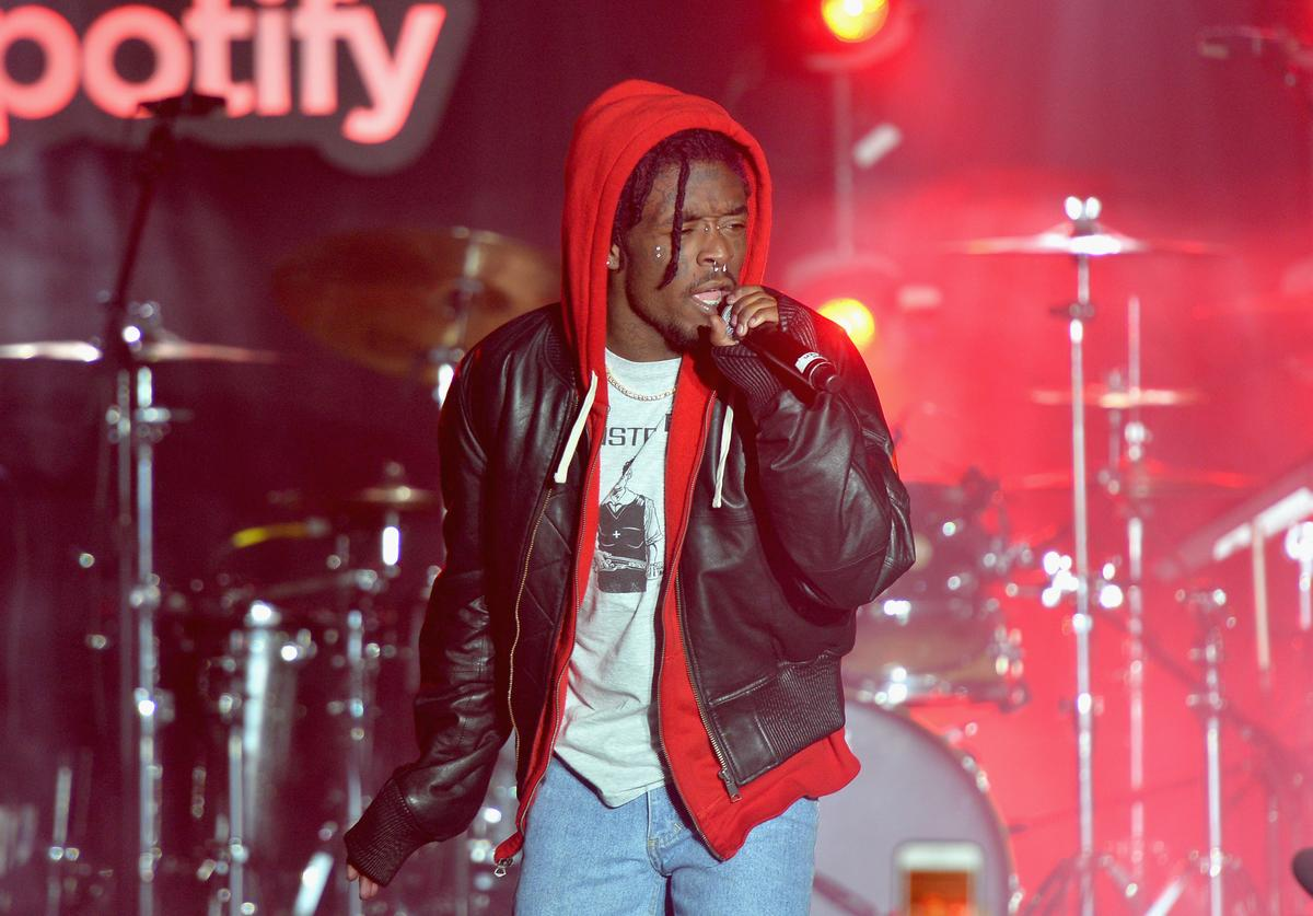 Lil Uzi Vert performs at 'Spotify's Best New Artist Party' at Skylight Clarkson on January 25, 2018 in New York City