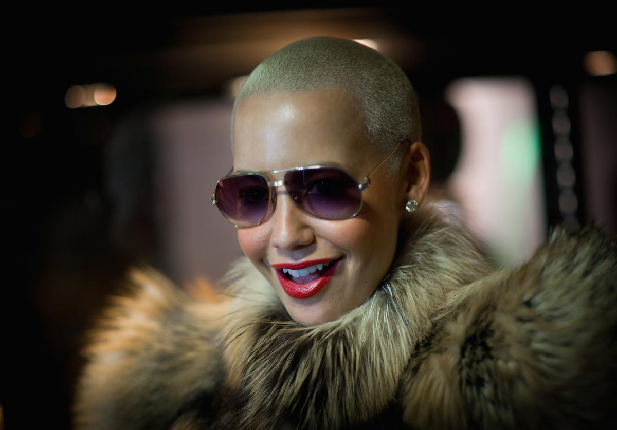 Amber Rose attends the Vivienne Westwood Shoes: An Exhibition 1773-2010 party at Selfridges department store on September 20, 2010 in London, England